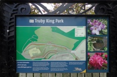 Truby King Park sign